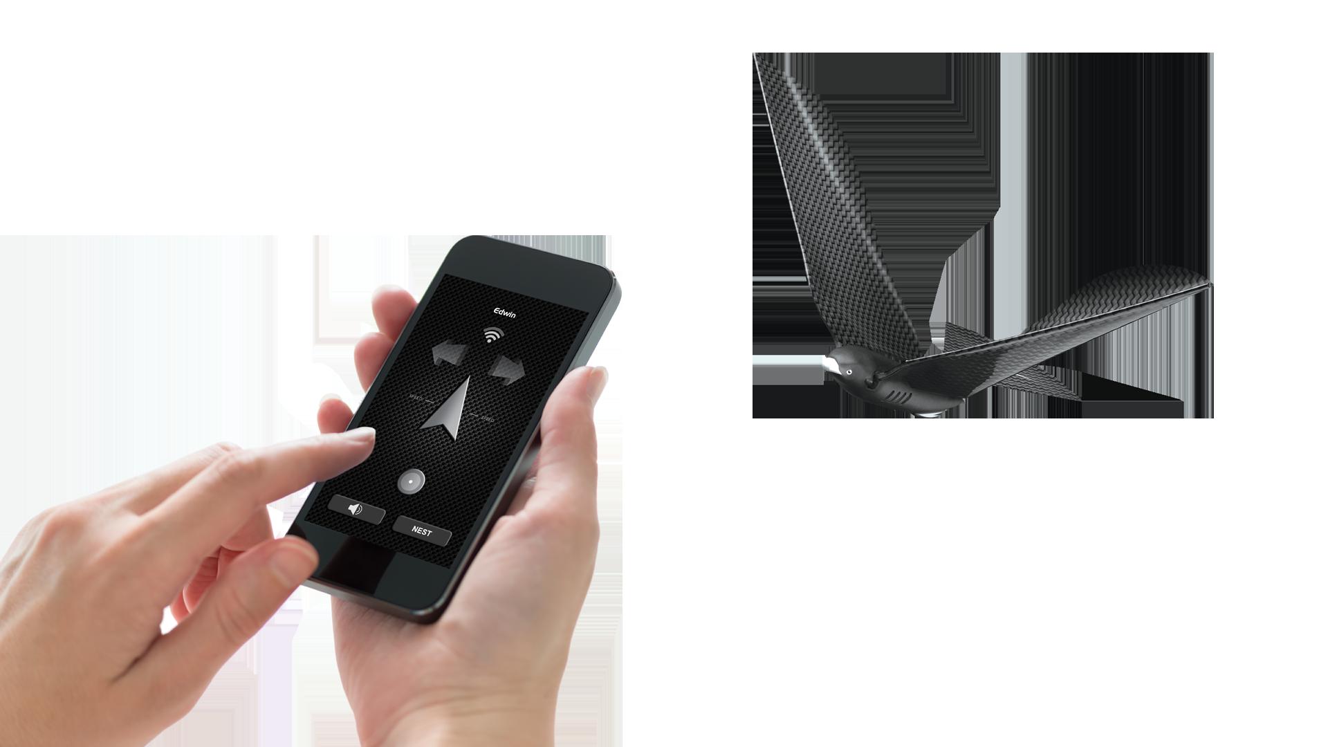 Bionic Bird control détouré